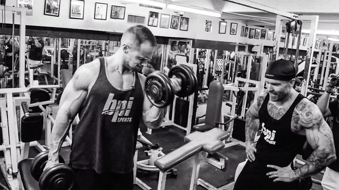 Run The Rack Means You Ll Start With A Heavy Pair Of Dumbbells Do As Many Reps Can Them Then Grab Next Lightest And