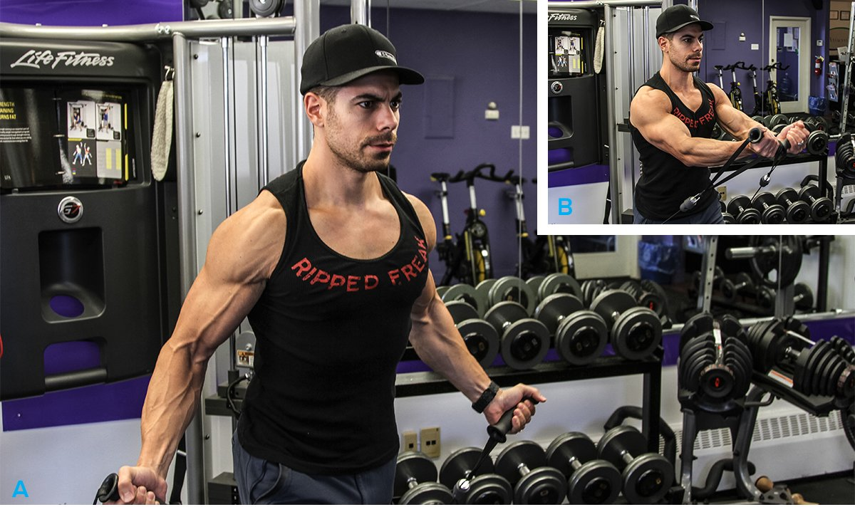 Build your best chest 5 must do pec exercises for Floor underhand cable fly