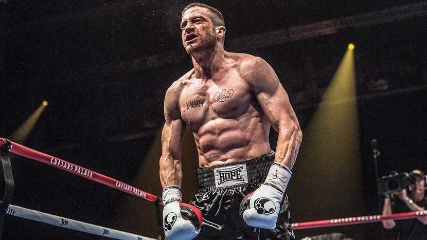 Image result for southpaw jake gyllenhaal