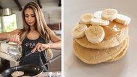 Lais DeLeon's Peanut Butter Protein Pancakes