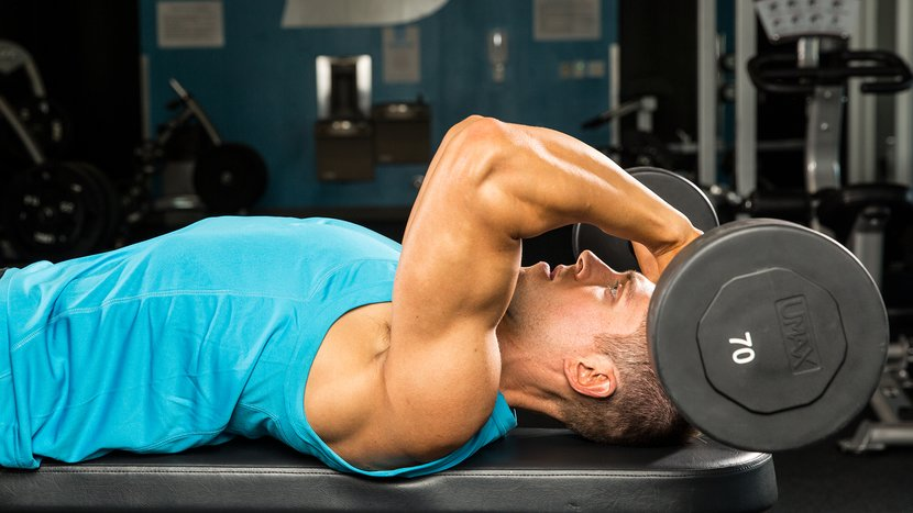 New Skullcrusher Moves For Your Triceps