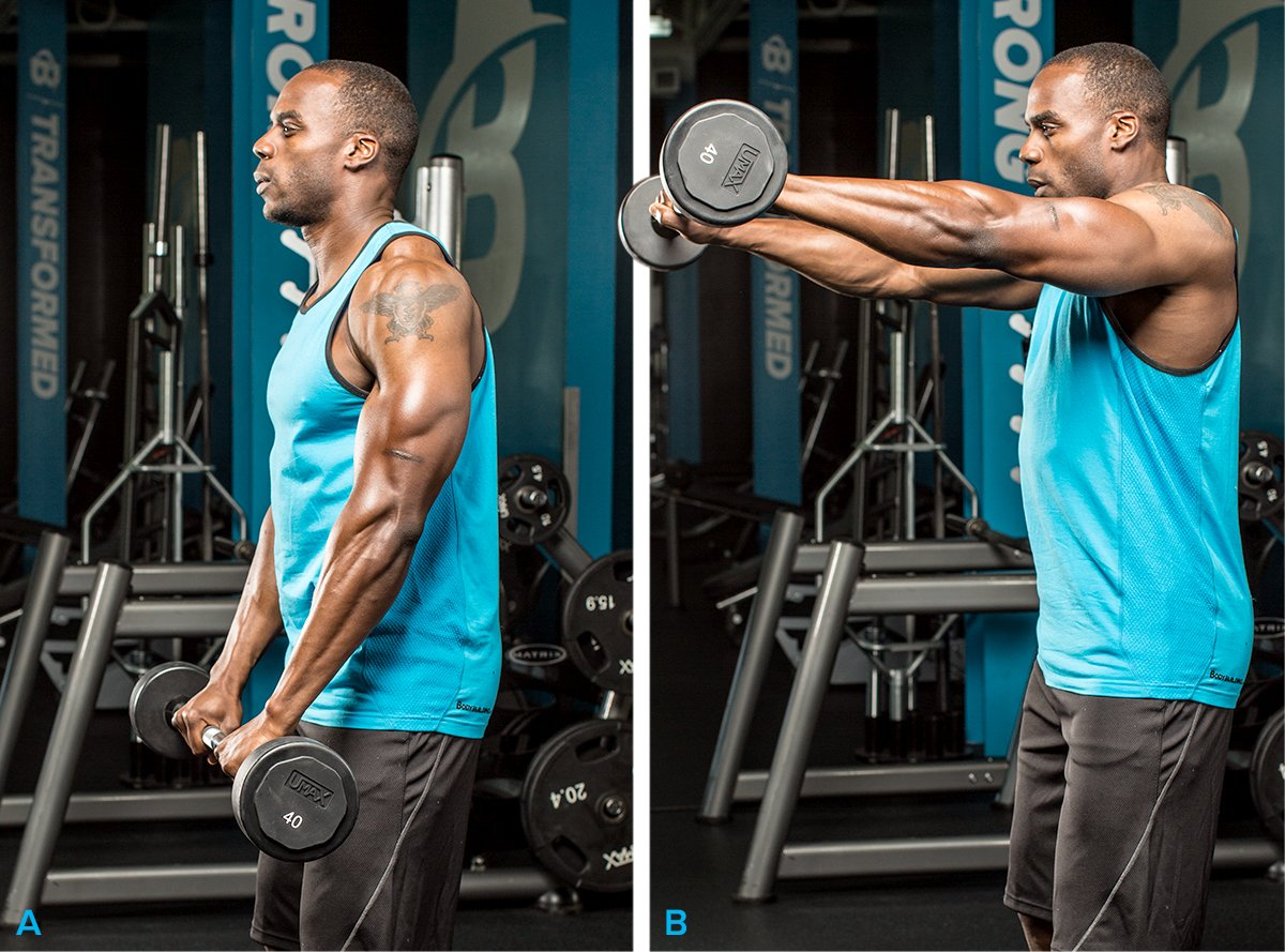 how to get delt definition body building