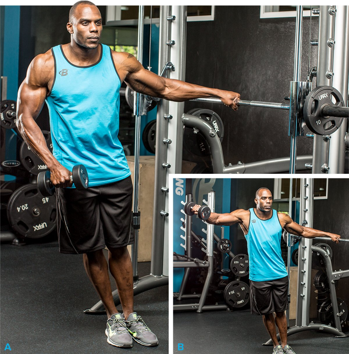 Best Workout: Shoulder Workouts For Men: The 7 Best Routines For Bigger