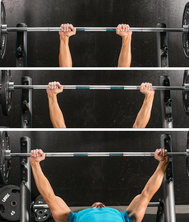 Purpose of Lifting Straps--The Safest Way to Train: 3 hand positions on bar