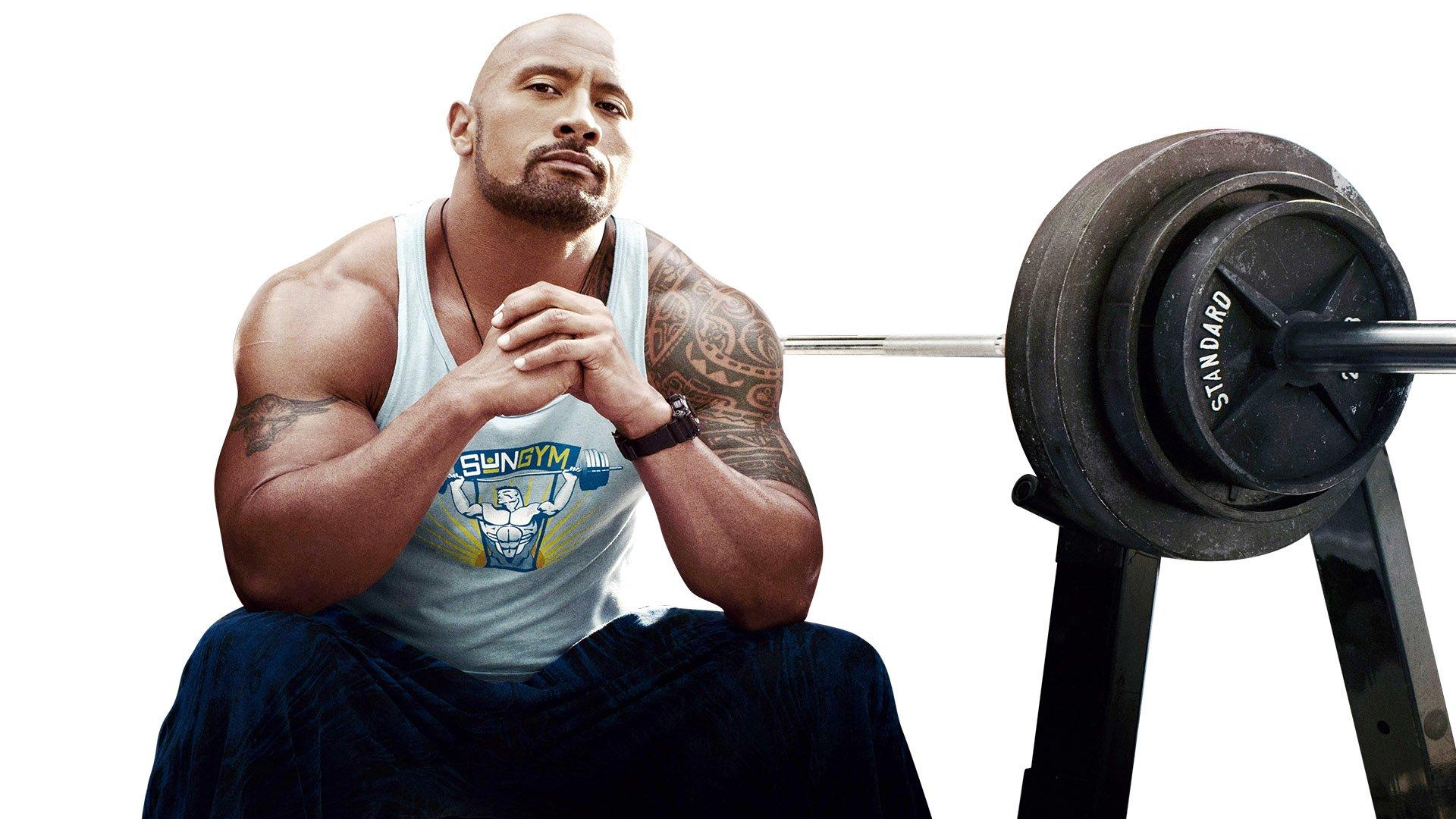 Train Like Dwayne ''The Rock'' Johnson!