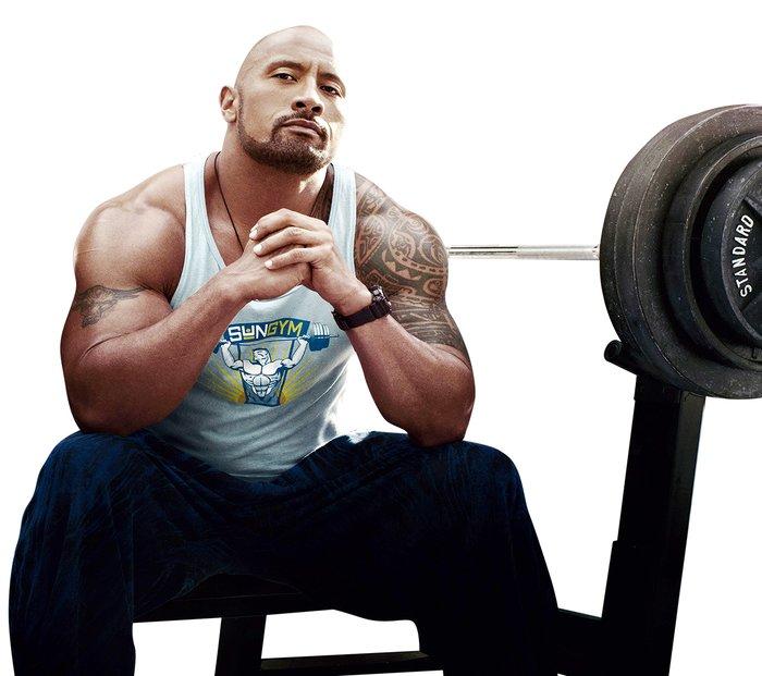 train like dwayne the rock johnson