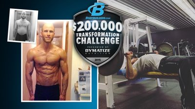 Where Are They Now? 200K Transformation Male Winner Chandler Camden