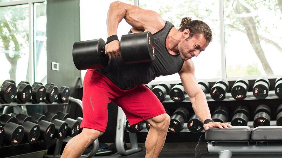 3 Ways To Train The Single-Arm Dumbbell Row