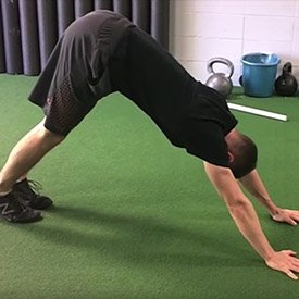 Push-up to down dog