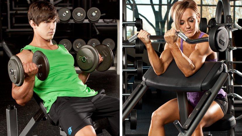 how to grow biceps peak