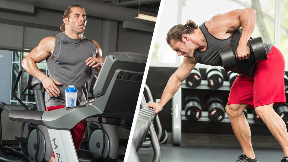 best routine to lose weight and gain muscle