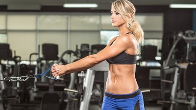 Danielle Belanger's Picture-Perfect Glutes And Ab Workout