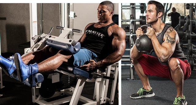 Legs Workout Leg Press Machine