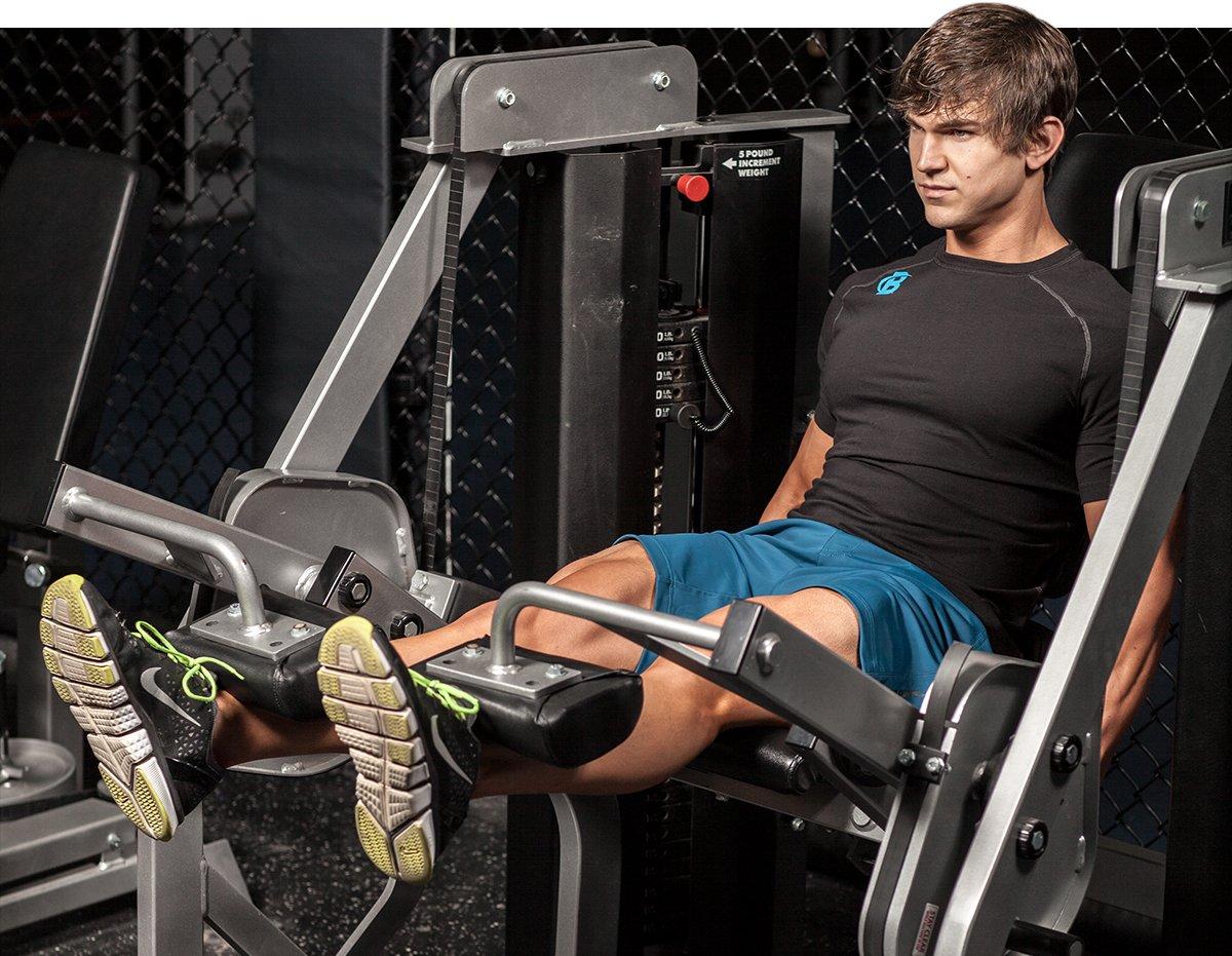 exercise machine for quads
