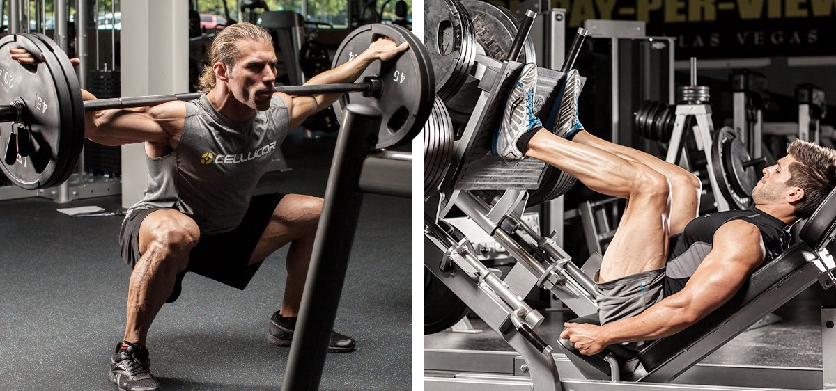 Bodybuilding exercises for men