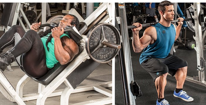 Leg Workouts For Men The 7 Best Thicker Quads Glutes