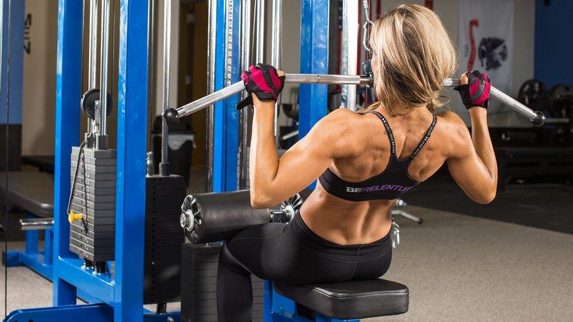 Nikki Walter's Fitness-Model Back Workout