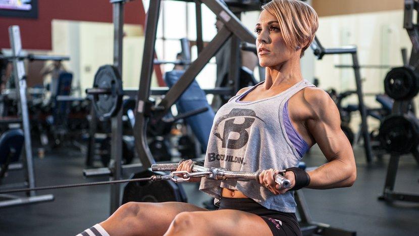 Sexy Back: Jessie Hilgenberg Back Workout