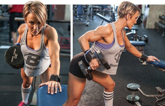 Sexy Back Jessie Hilgenberg Back Workout Bodybuilding Com