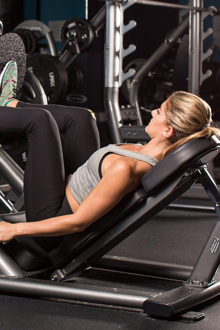 beginner machine workout