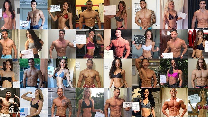 We 'Mirin Vol. 129: Bodybuilding.com Spokesmodel Finalists