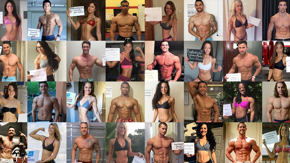We 'Mirin Vol. 129: Bodybuilding.com Spokesmodel Finalists