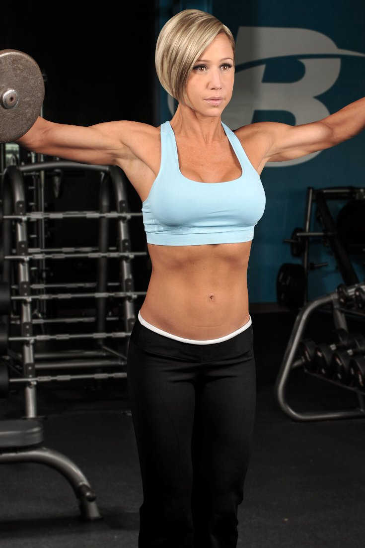 Something body building woman sexy are