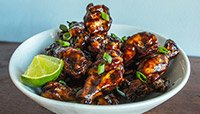 TANGY BALSAMIC GLAZE WINGS