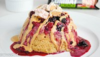 MIXED BERRY PROTEIN CAKE