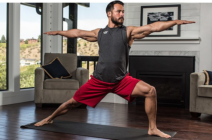 Yoga is getting to be downright fashionable nowadays, which can be both a blessing and a curse -- particularly for men. It's magnificently torturous to practice yoga when the velcro fly on your favorite pair of ripped board shorts keeps popping open and your sweat .