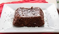 TWO-MINUTE BROWNIE