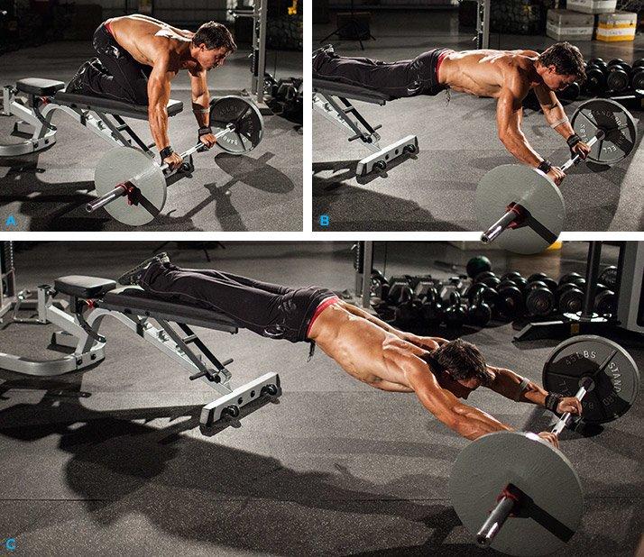 Chest Workout Incline Smith Machine Bench Press