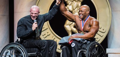 Harold Kelley Wins Inaugural Arnold Classic Pro Wheelchair