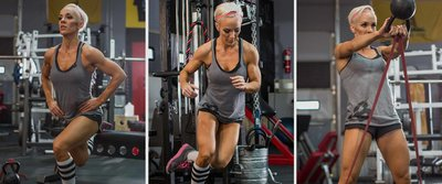 Jessie Hilgenberg's Power Plyo Circuit Workout!