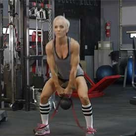 Kettlebell swing with resistance