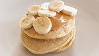 Peanut Butter Protein Pancakes