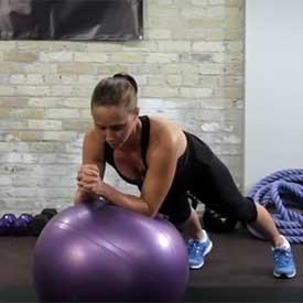 Stability-ball stir-the-pot