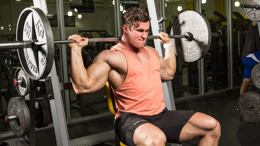 Best muscle building shoulder exercises