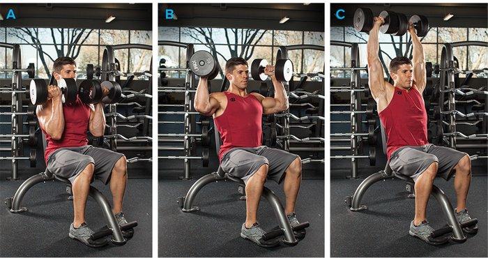 أفضل تمارين الكتف لبناء العضلات