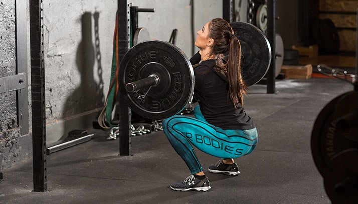 One of the biggest mistakes that women make when doing the squat exercise is shorting themselves of the full movement.