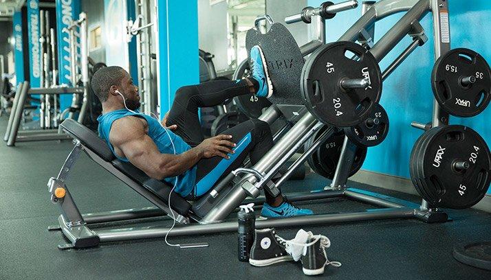 weight machine vs free weights