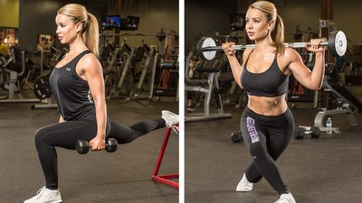 Annie Parker's Lower-Body Bikini Workout