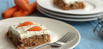 Healthy Protein-Packed Carrot Cake!