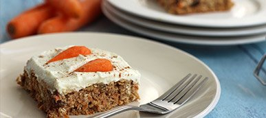 Healthy Protein Carrot Cake