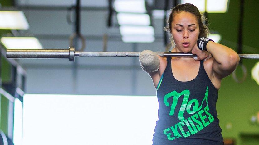 Krystal Cantu: One Arm, No Excuses