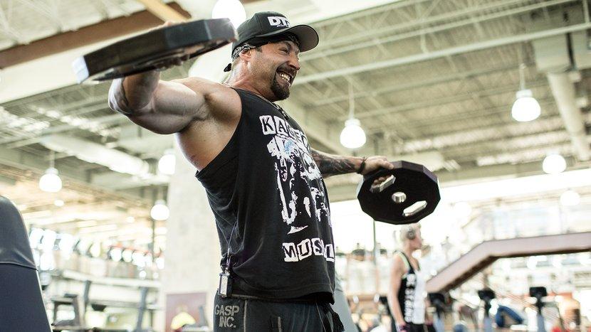 Plates Of Pain: Kris Gethin's Shoulder Workout