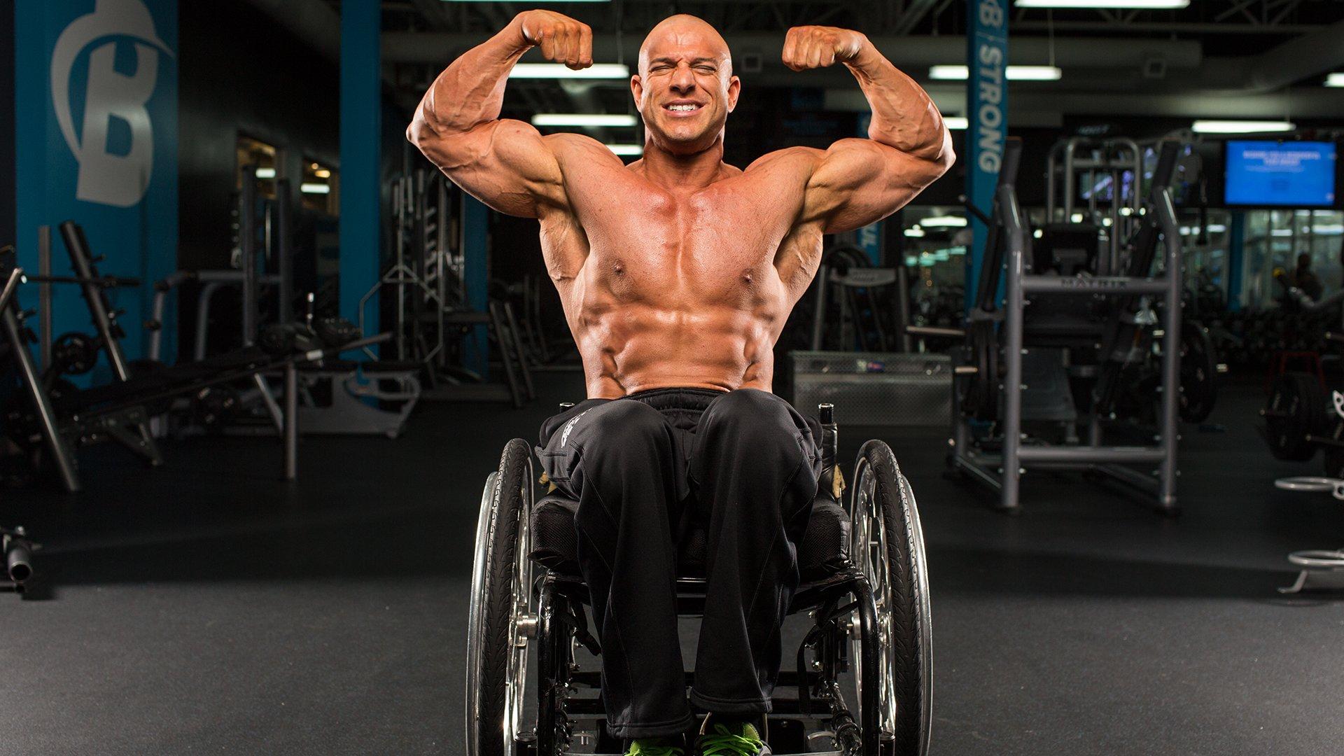 Rising up the story of wheelchair bodybuilder nick scott
