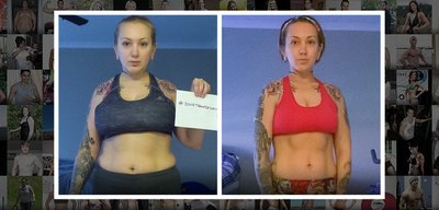 Sarah's Competitive Nature Helped Her Get Fit!