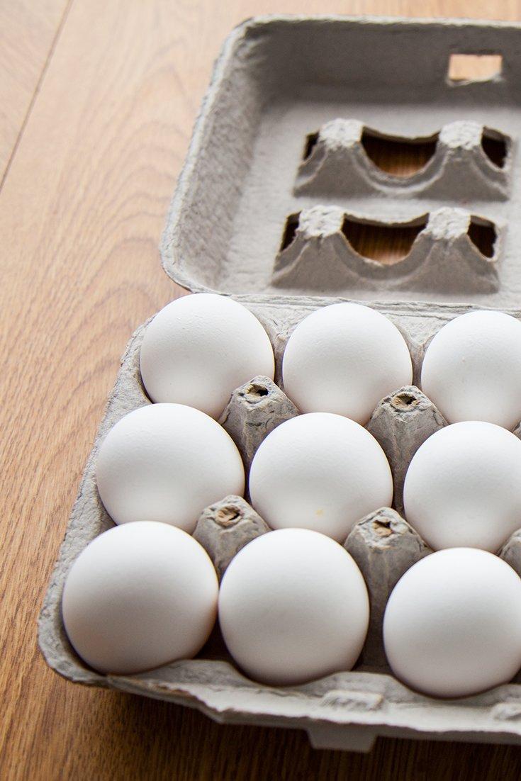 Elimination of egg damage: how effective is it