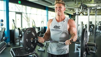 Steve Cook Smashes Arms And Shoulders